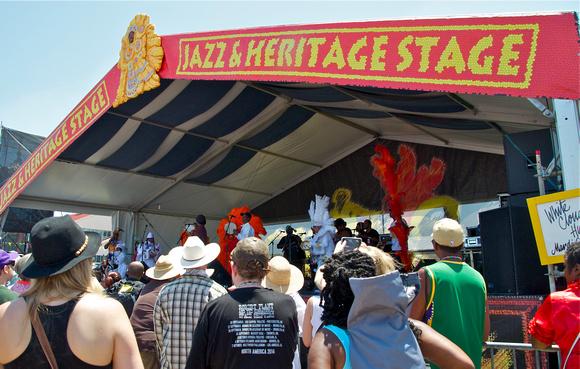 Jazz & Heritage Stage