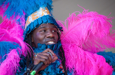 Young Hunters Mardi Gras Indians